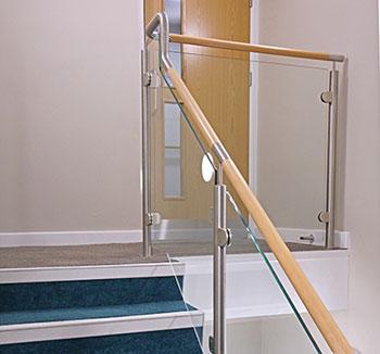 Timber & Stainless Steel Balustrade