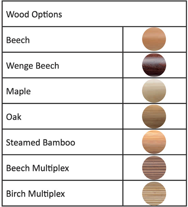 Timber Wood Options